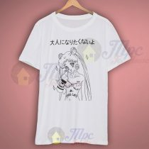 Sailor Moon Kawaii Anime Thug Life Grunge T Shirt