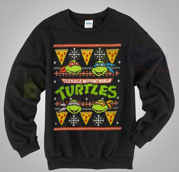 Teenage Mutant Ninja Turtles Christmas Sweater - Mpcteehouse