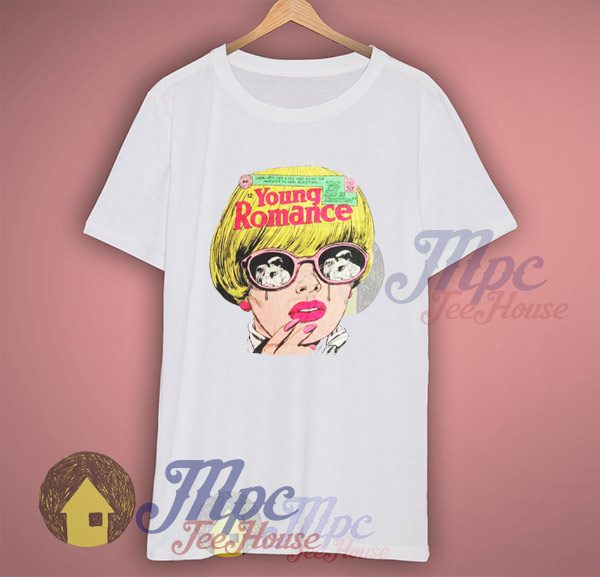 Young Romance Vintage DC Comic T Shirt