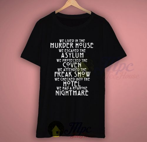 American Horror Story All Season Quotes T Shirt