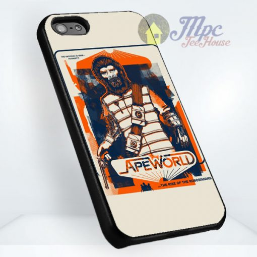 Ape World Protective Phone Cases iPhone 7, iPhone 6, iPhone 5 And Samsung