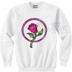 Beauty And The Beast Rose Christmas Sweater