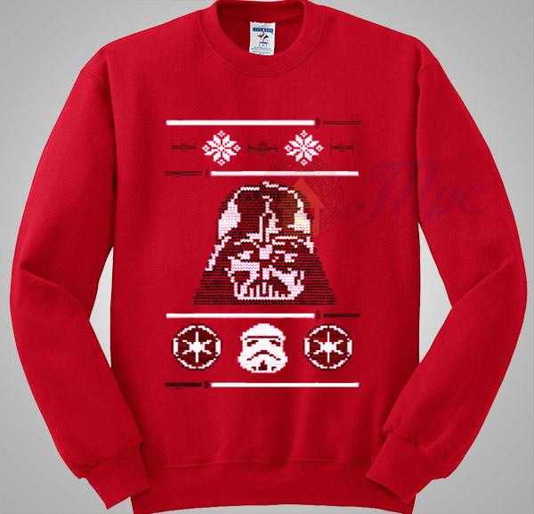 darth vader star wars christmas sweater