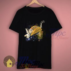 Funny Kitten Tacocat Space T Shirt