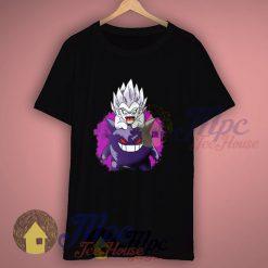 Funny Pokemon Gengar And Saiyan Goku T Shirt