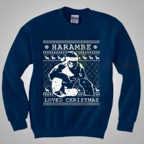 Harambe Loved Christmas Sweaters