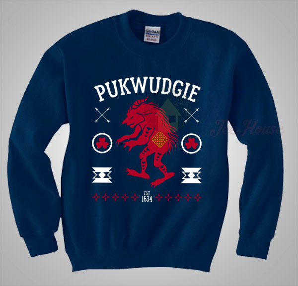 pukwudgie harry potter christmas sweater