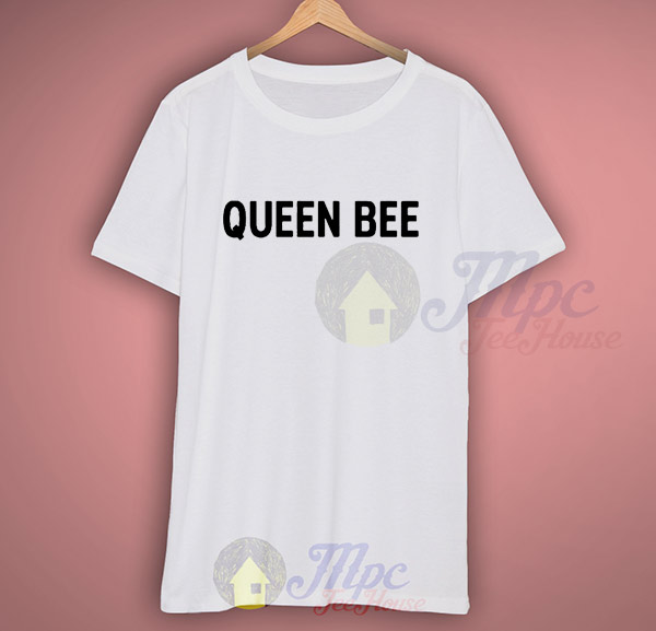 Queen Bee Hipster Slogan T Shirt