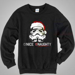 Santa Stormtrooper Star Wars Chirstmas Sweater