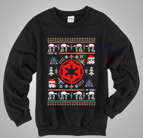 Star Wars Galactic Space Christmas Sweater
