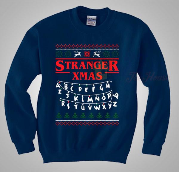 Stranger Things Christmas Sweater.Stranger Things Xmas Christmas Sweater