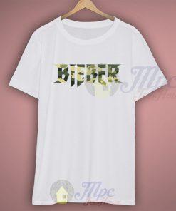 Bieber Across Camo T Shirt