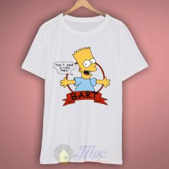 Dont Have A Cow Man Bart Funny T Shirt