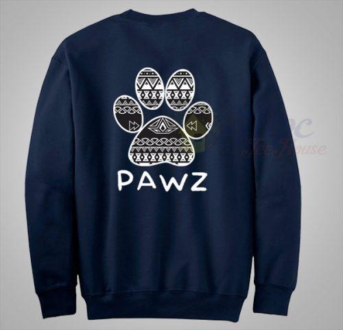 Pawz Save The Dog Aztec Pattern Sweatshirt