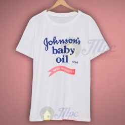 Johnsons Baby Oil Classic T Shirt