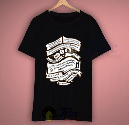Tvd Quotes Vampire Diaries T Shirt