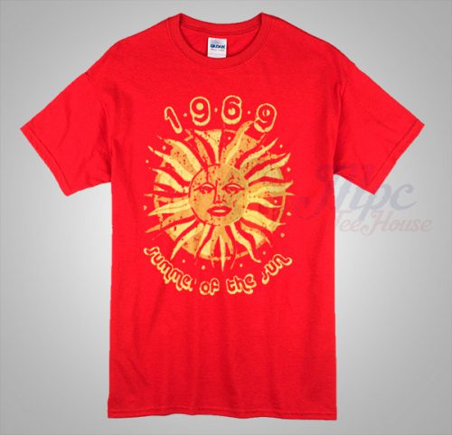 1969 Vintage Summer Of The Sun T Shirt