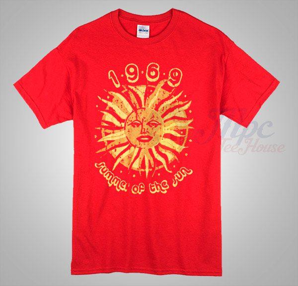 1969 Vintage Summer Of The Sun T Shirt