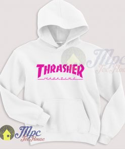 Cute Thrasher Pink Hoodie For Men and Women