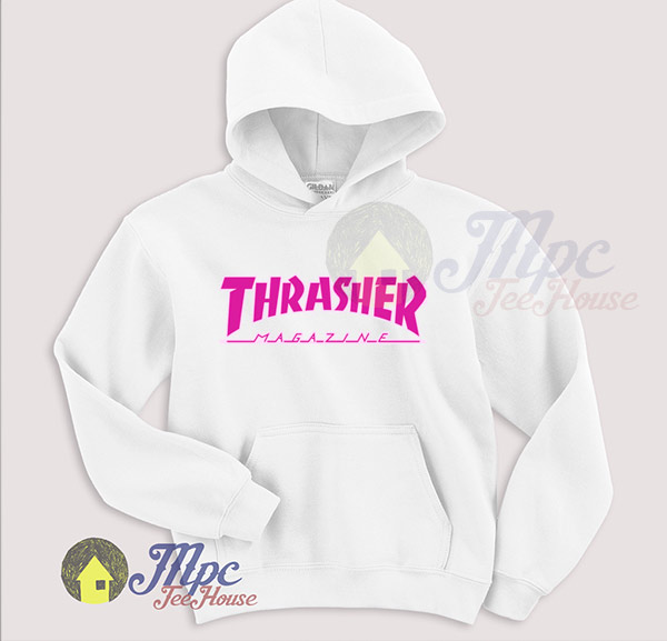 Cute Thrasher Pink Hoodie For Men and Women - Mpcteehouse 3980ef7319
