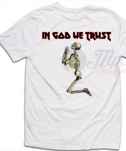 In God We Trust Skull T Shirt For Men and Women