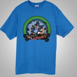 Lilo Stitch Welcome To Hawaii Summer T Shirt