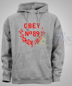 Obey Propaganda No 89 Grey Hoodie