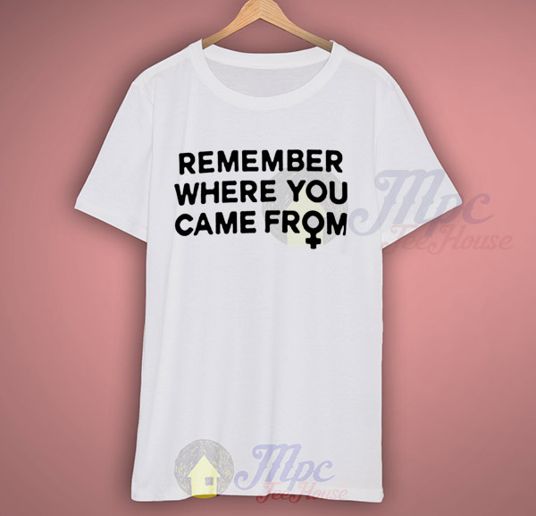 Remember Where You Came From Campaign T Shirt Mpcteehouse 80s Tees