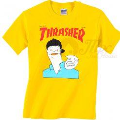 Thrasher Magazine Gonz Cover T Shirt