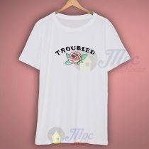 Troubled Floral Summer T shirt