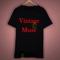 Vintage Muse T Shirt For Sale