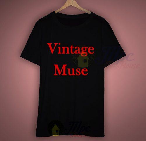 Vintage Muse T Shirt For Sale