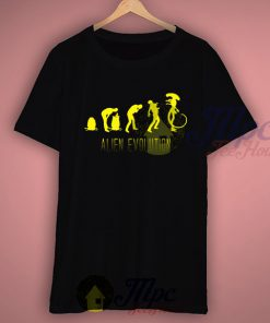 Alien Evolution T Shirt