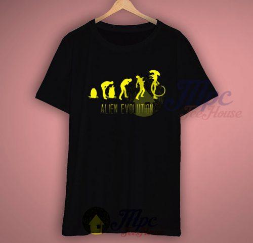 Alien Evolution T Shirt