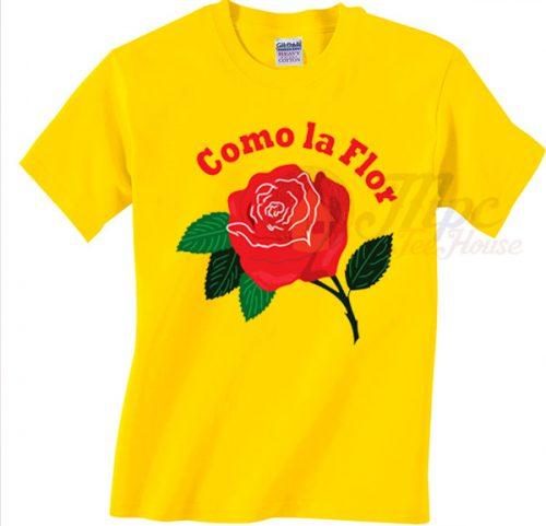Como La Flor Selena Los Dinos T Shirt