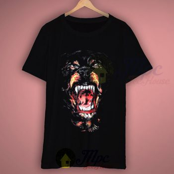 Givenchy Rottweiler Retro T Shirt