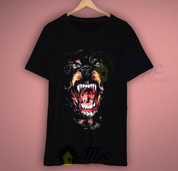 Givenchy Rottweiler Retro T Shirt