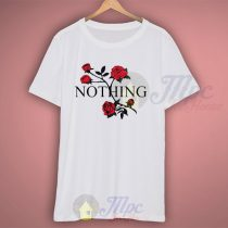 Good For Nothing Vintage Rose T Shirt