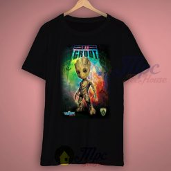 I Am Groot Guardians Of The Galaxy T Shirt