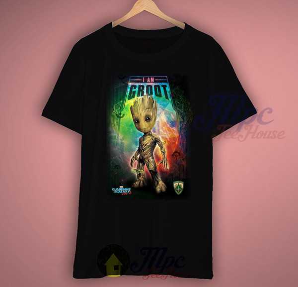 I Am Groot Guardians Of The Galaxy T Shirt Mpcteehouse