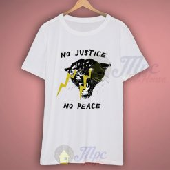 No Justice No Peace Freedom Fighter T Shirt