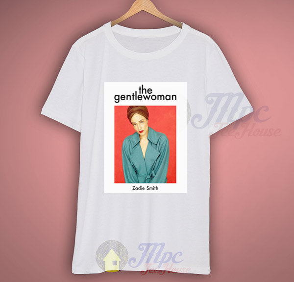 dc782ff52 The Gentlewoman Zadie Smith Graphic T Shirt – Mpcteehouse: 80s Tees