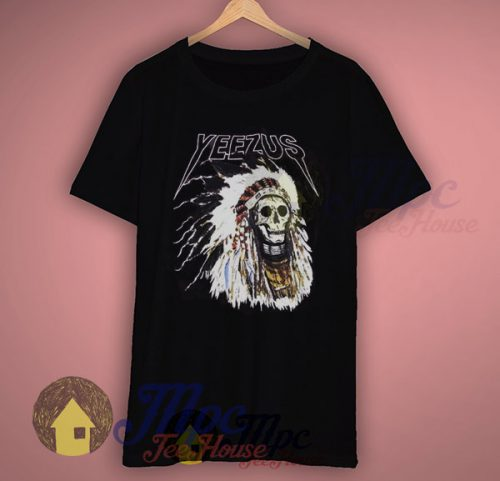 Yeezus Indian Skull Concert T Shirt