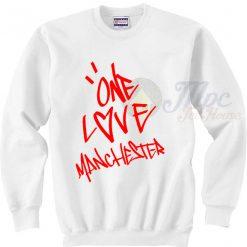 One Love Manchester Ariana Grande Sweatshirt