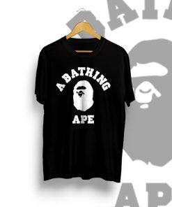 BAPE A Bathing Ape Black T Shirt