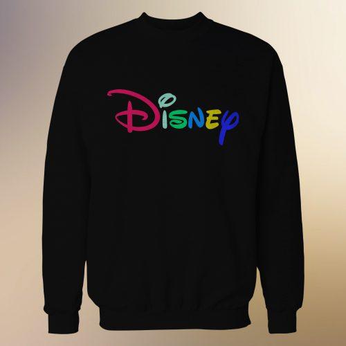 Disney Logo Type Rainbow