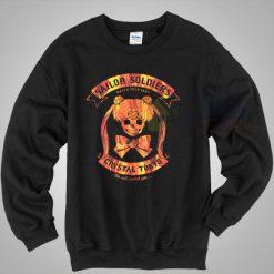 Sailor Soldier Motorcycle Club Vintage Sweatshirt
