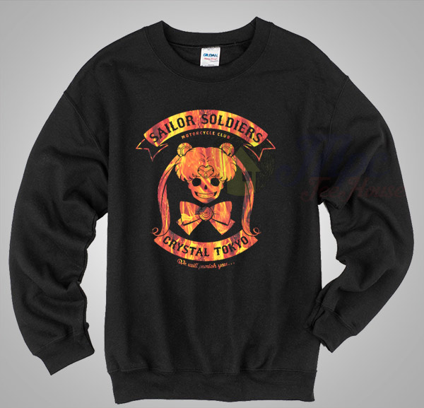Sailor Soldier Motorcycle Club Vintage Sweatshirt