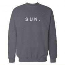 Sun. Sunday Storm Grey Sweatshirt