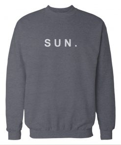 Sun. Sunday Storm Grey Sweatshirt
